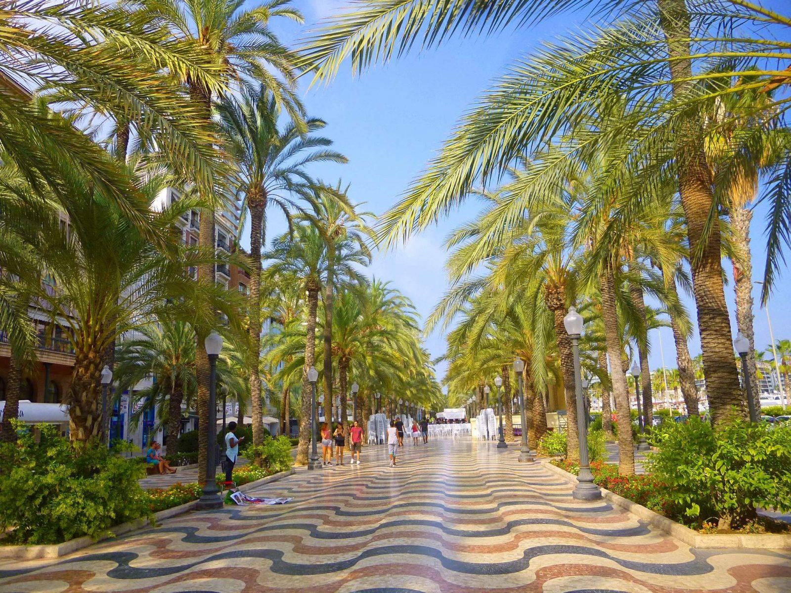 spain-realty: Alicante Explanada de España